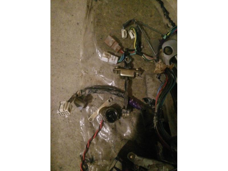 Vand instalatie electrica usa dreapta fata Toyota Corolla 2001 3 usi