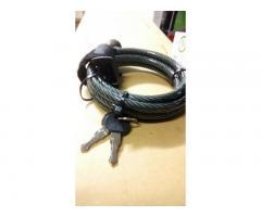 Vand Cablu lacat spiral Best seller cu cheie