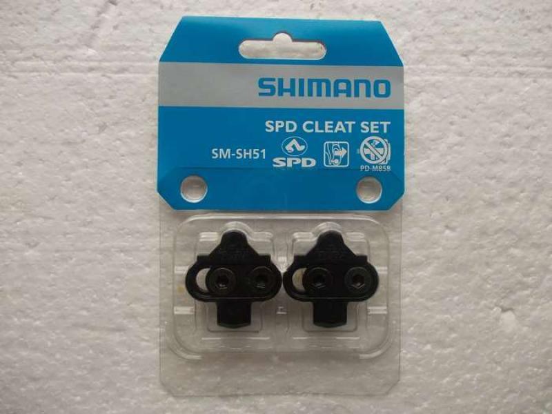 Vand Placute Shimano SPD pentru pedale bicicleta MTB, pentru pantofi SPD