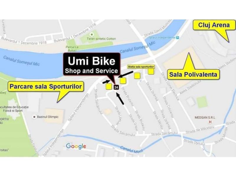 Service si Magazin, biciclete Cluj-Revizii-Reparatii-Vanzari