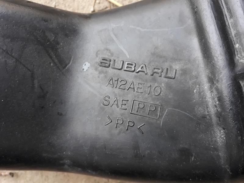Vand tub admisie aer Subaru Impreza WRX 2002 A12AE10