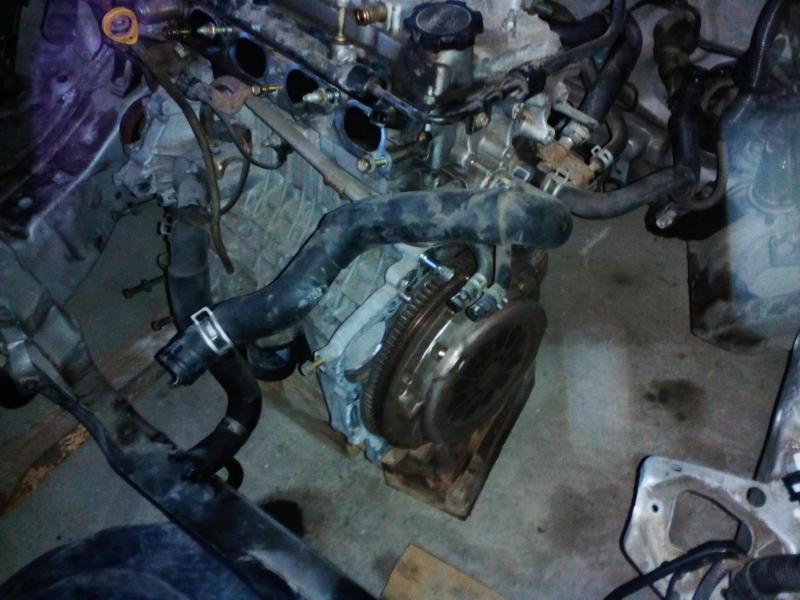 Dezmembrez motor inundat 1.4 Toyota Corolla E112 2001 97 CP 71kw