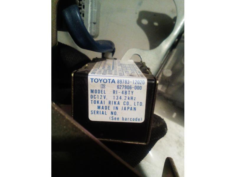 Vand amplificator transponder key Toyota Corolla e112 2001