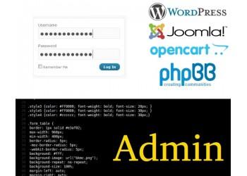 Administrare site web