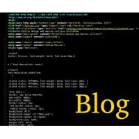 Creare blog site